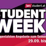 STUDENT WEEK: Die genialsten Angebote zum Semesterstart!