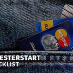 Semesterstart-Checkliste by iamstudent: Versicherungen und Finanzen.