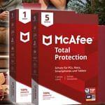 McAfee Jahreslizenz um 89% günstiger!