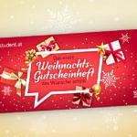 XMAS Gutscheinheft 2019: Fröhliche Studentenrabatte überall!