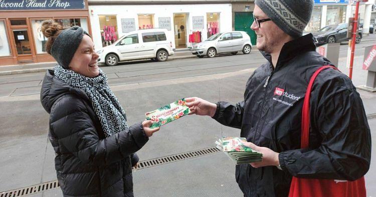 iamstudent Promo-Jobs: Wir suchen Gutscheinheftverteiler*innen für Wien!