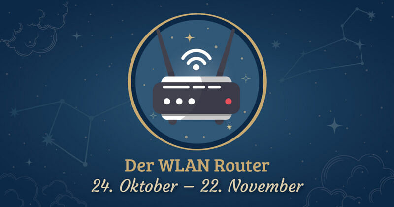studiskop der wlan-router